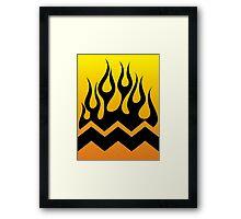 Charlie Flames Framed Print