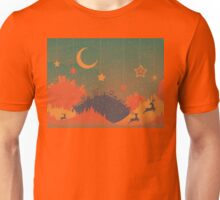 Night Winter City 2 Unisex T-Shirt