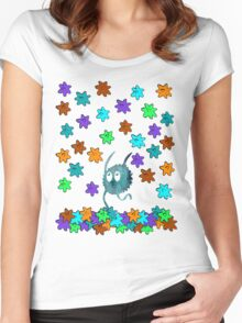 Yay Raining Candy!! Women's Fitted Scoop T-Shirt
