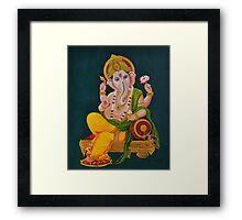 Traditional Ganesh Framed Print