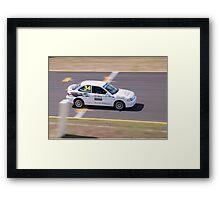 Pierce Motorsport Hyundai Excel #34 Framed Print