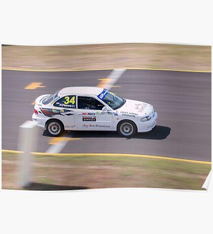 Pierce Motorsport Hyundai Excel #34 Poster
