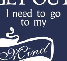 I Need To Go To My Mind Palace - BBC Sherlock Sticker