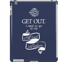 I Need To Go To My Mind Palace BBC Sherlock iPad Case/Skin