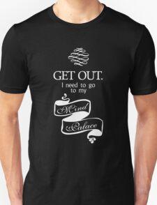 I Need To Go To My Mind Palace BBC Sherlock T-Shirt