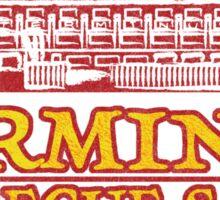 Terminus Sauge The Walking Dead  Sticker