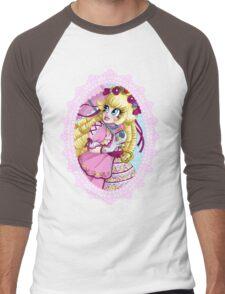 Lolita Princess Peach Men's Baseball ¾ T-Shirt