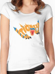 Tigrex - Monster Hunter Women's Fitted Scoop T-Shirt