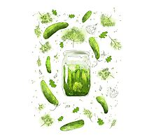 Pickles! Photographic Print
