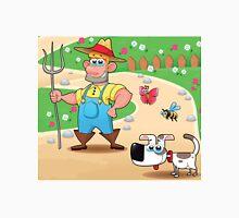 farmer and dog, animal farm Unisex T-Shirt