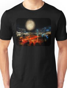 Fireworks By The Bay (T/Chest) Unisex T-Shirt
