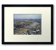 AA299 City Scape  Framed Print