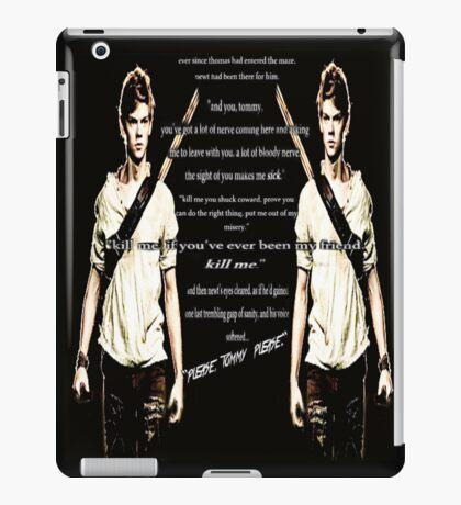 Newt's Death Scene (The Death Cure, Maze Runner) iPad Case/Skin