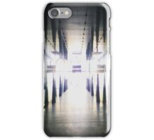 Symmetry in the tunnel iPhone Case/Skin