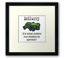 Our special ingredient! Framed Print