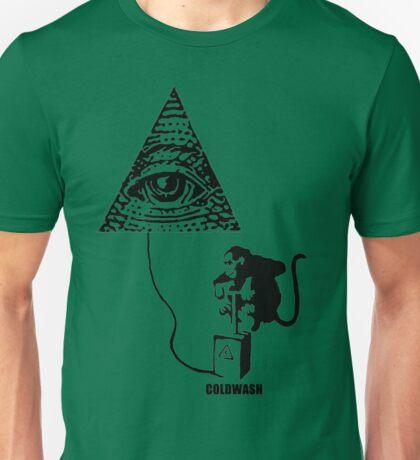 NAUGHTY LITTLE MONKEY Unisex T-Shirt