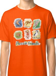 Me and My Aussie Friends - Girl Classic T-Shirt