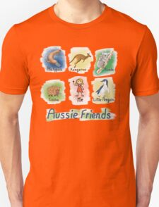 Me and My Aussie Friends - Girl Unisex T-Shirt