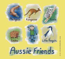 Me and My Aussie Friends - Boy Kids Tee
