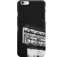 sdrawkcab iPhone Case/Skin