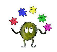 Juggling Star Candy by missmann