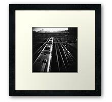 part viii Framed Print