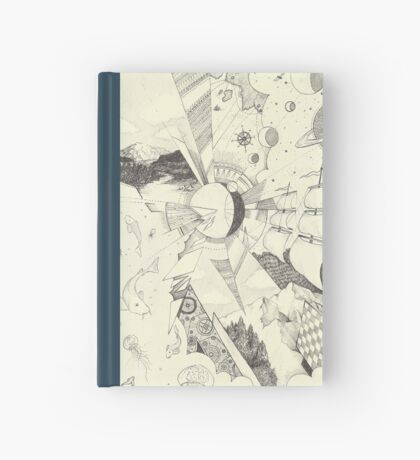 Lunar Landscape Hardcover Journal