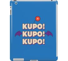 Moogle (Final Fantasy) - Kupo! iPad Case/Skin