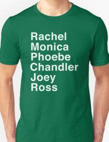 Friends - Names T-Shirt