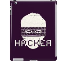 Another Hacker Mask iPad Case/Skin