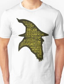 Gandalf Silhouette Unisex T-Shirt