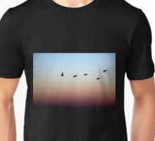 5 Monterey Birds at Dusk Unisex T-Shirt