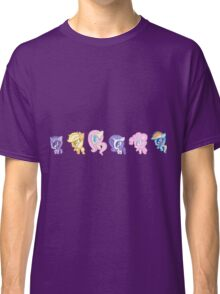 Weeny My Little Pony- Mane Six Classic T-Shirt