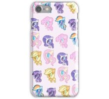Weeny My Little Pony- Mane Six iPhone Case/Skin