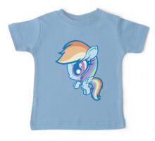 Weeny My Little Pony- Rainbow Dash Baby Tee