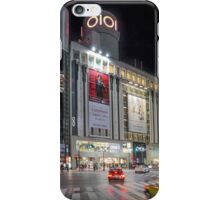 Bright Night Shibuya Intersection iPhone Case/Skin
