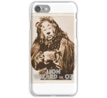 Wizard of Oz Lion iPhone Case/Skin