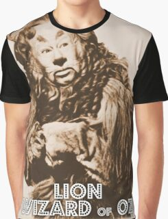 Wizard of Oz Lion Graphic T-Shirt