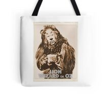 Wizard of Oz Lion Tote Bag