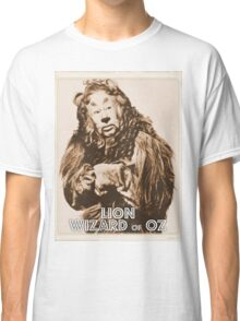 Wizard of Oz Lion Classic T-Shirt