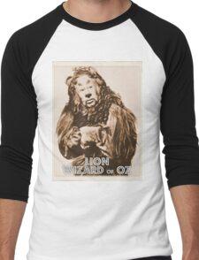Wizard of Oz Lion Men's Baseball ¾ T-Shirt