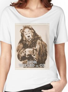 Wizard of Oz Lion Women's Relaxed Fit T-Shirt