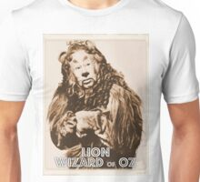 Wizard of Oz Lion Unisex T-Shirt