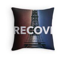 RECOVR PARIS (DARK) EIFFEL TOWER Throw Pillow