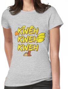 Chocobo (Final Fantasy) - Kweh! Womens Fitted T-Shirt