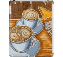 Still life with bicycle iPad Case/Skin