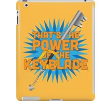 That's the power of the KEYBLADE! iPad Case/Skin