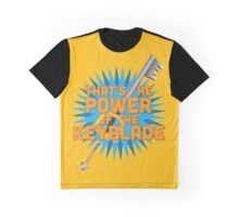 That's the power of the KEYBLADE! Graphic T-Shirt