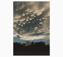 Bizarre Mammatus Clouds After a Summer Storm One Piece - Long Sleeve