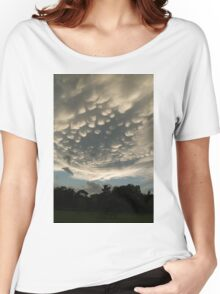 Bizarre Mammatus Clouds After a Summer Storm Women's Relaxed Fit T-Shirt